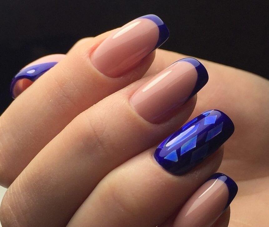 Синий френч и битое стекло