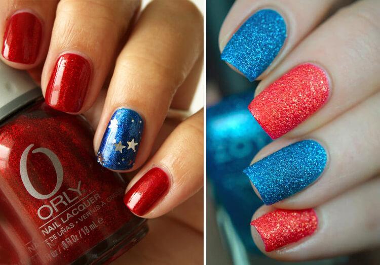 Синий с красным сочетание