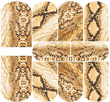 Слайдеры со змеиным окрасом от бренда KrasotkaPro №KR032