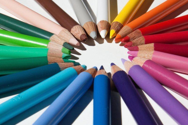 Сочетание цветов для логотипа