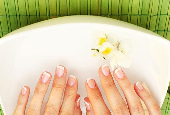 Солевые ванночки для рук и ногтей