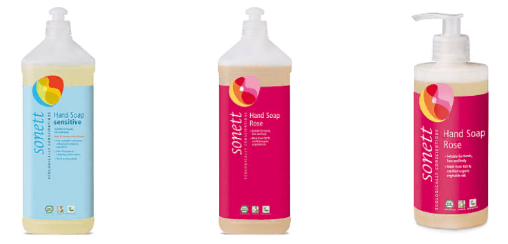 Жидкое мыло Sonett
