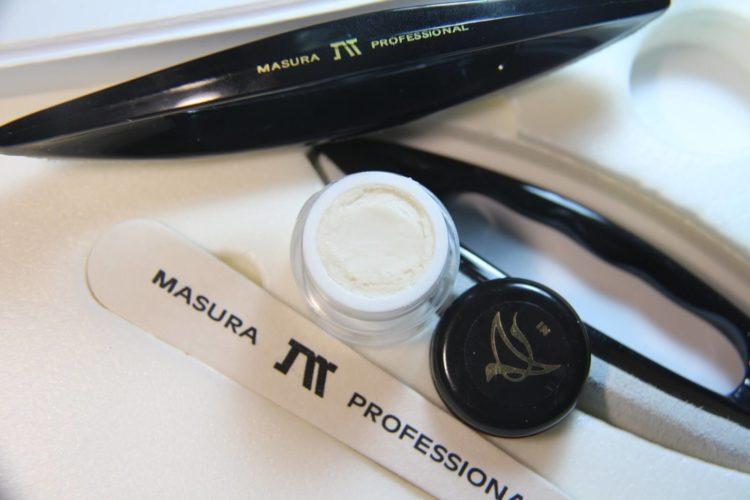 Технология ухаживающего сухого маникюра Masura