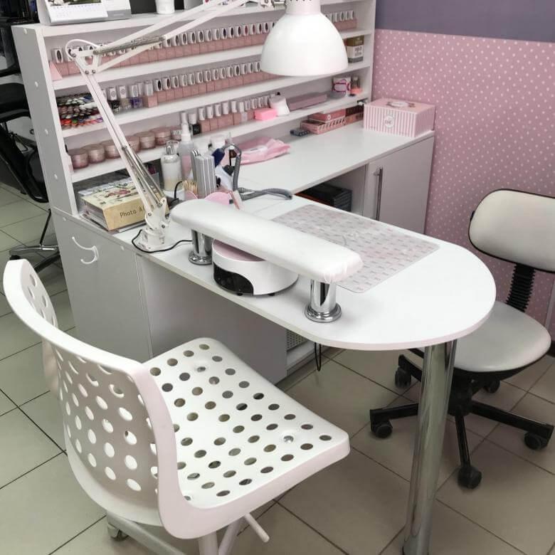 Форма стола для маникюра