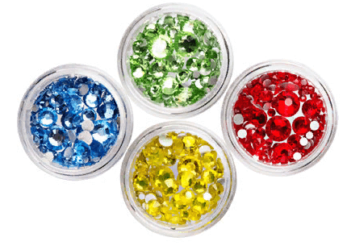 Разноцветные камни от бренда irisk