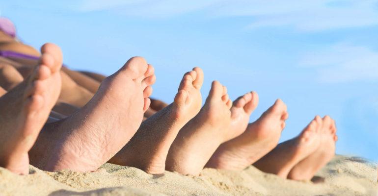 Кремы для сухой кожи ног
