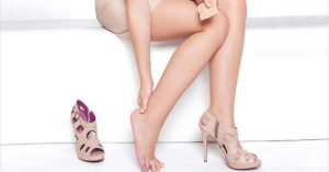Причины сухости кожи ног