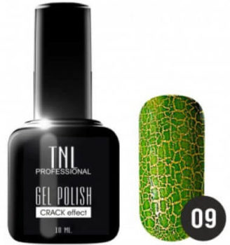 Кракелюр зеленый от TNL № 9