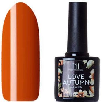 Гель-лак TNL «Love Autumn» №06 – темно-оранжевый