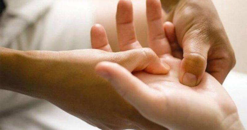 Акупунктурный массаж рук