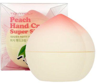 5. Tony Moly, Peach hand cream