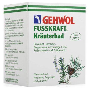 Травяная ванна от бренда Gehwol
