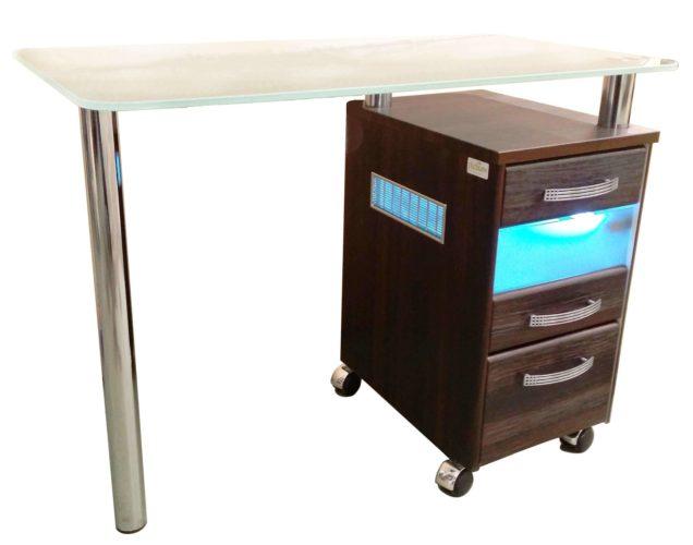 Маникюрный стол с УФ блоком