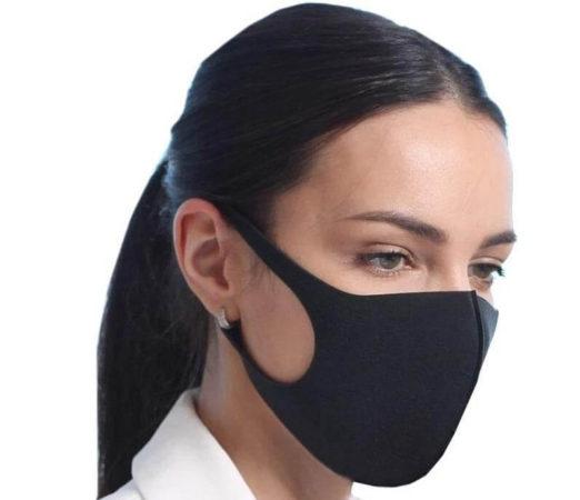 Угольная многоразовая маска для мастера маникюра и педикюра