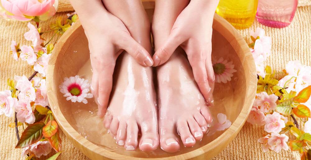 Программа процедур по уходу за кожей ног