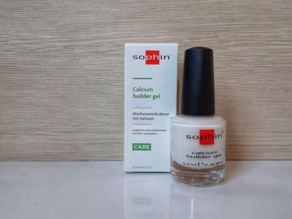 Calcium builder gel – Средство для укрепления ногтей с кальцием