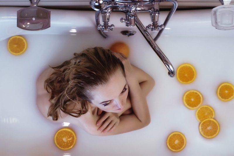 Ванна при ароматерапии