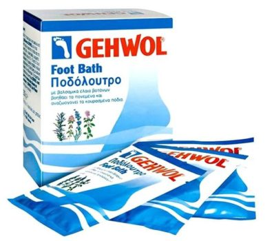 Соль для ванночек Геволь для регенерации кожи ног