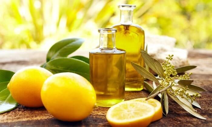 Ванночки с маслом лимона