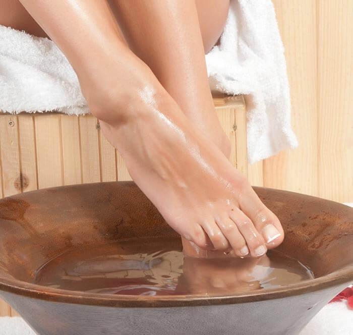 Ванночки для ног для профилактики