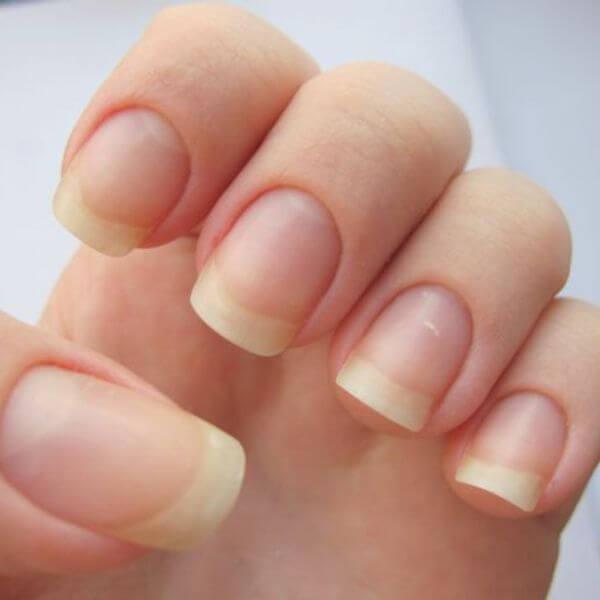 Веерная форма ногтей