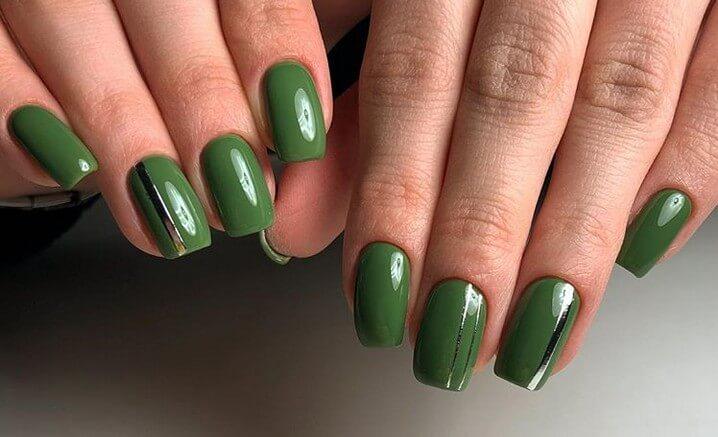 Зеленый весенний дизайн