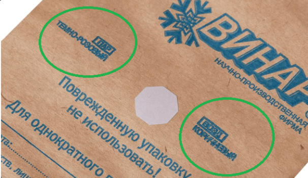Индикаторы на пакетах