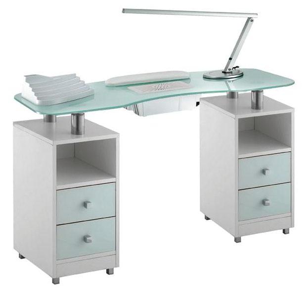 Маникюрный стол с вытяжкой пылесосом