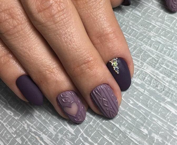 Вязка на ногти без напыления