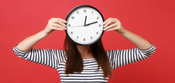 Выбор времени публикации в инстаграм
