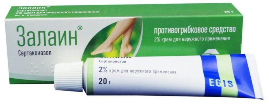 Противогрибковый препарат Залаин