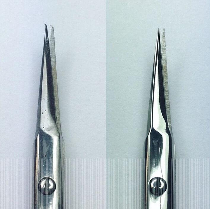 Заточка ножниц для маникюра